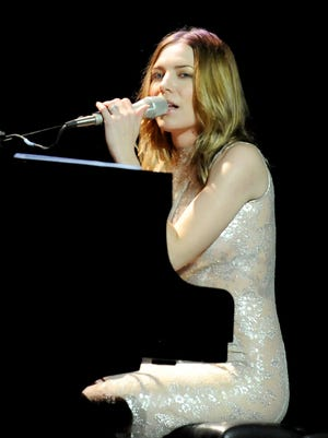 "Skylar Grey performs at ""A Song Is Born"" the GRAMMY Foundation Legacy Concert on Jan. 23."