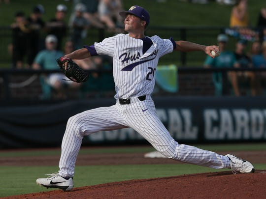Former South Kitsap baseball standout Logan Knowles helped the University of Washington reach the College World Series in June.