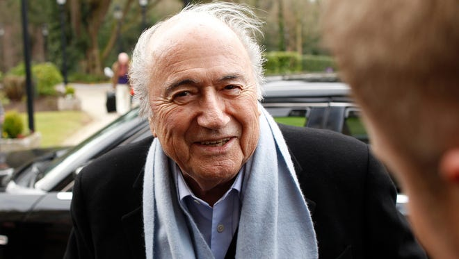 Sepp Blatter was elected to a fifth term as FIFA president Friday.