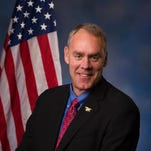 Rep. Ryan Zinke is taking a roadtrip in the state Oct. 12-15.