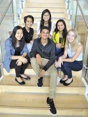 Participants in the internship program  were Joy Quan, Claudia Cabral, Lylybell Zhou, Prachi Bhavsar, Karen Copeland and Nicholas Liautaud.