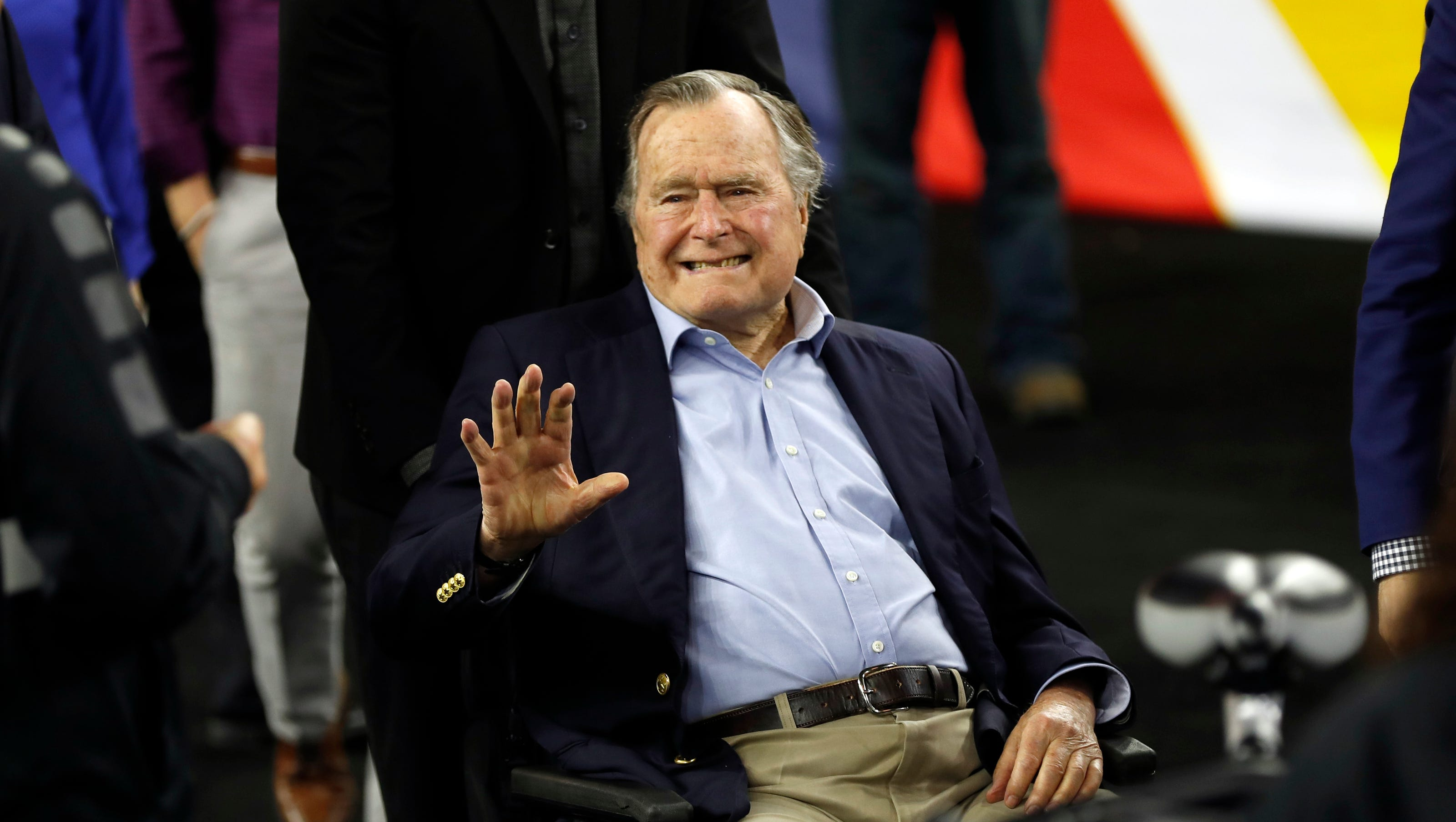 Analysis George H W Bush And Thinking Good Guys Don T Grope