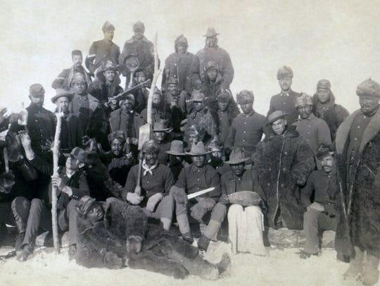 Buffalo soldiers.