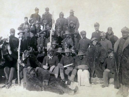 Buffalo Buffalo Soldiers set up