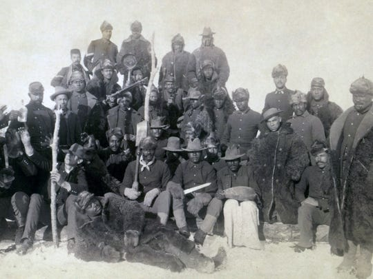 Buffalo Buffalo Soldiers set up: In 1913, a fort in
