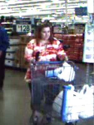 Nancy Ruth McIver is a suspect in a Wal-Mart theft case, police said.