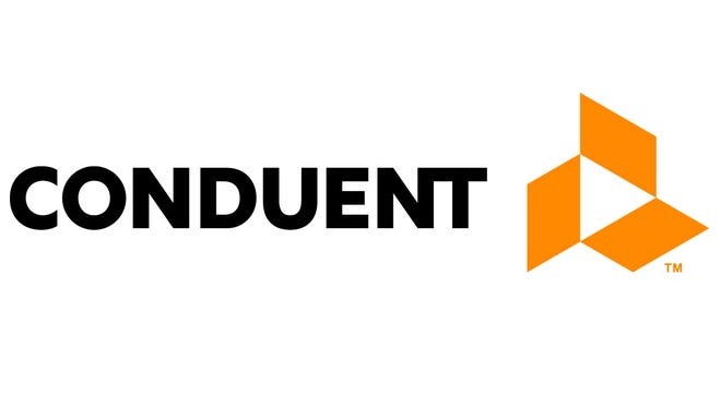 Conduent, Inc. logo.