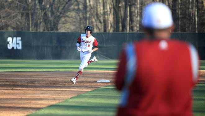 Asheville High's Sam Weidie has committed to play college baseball for High Point.