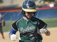 James Buchanan's Brooke Pittman went 3-for-4 in the Rockets' 9-1 victory over Red Land.