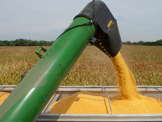 AP CORN HARVEST A F AGR USA IL