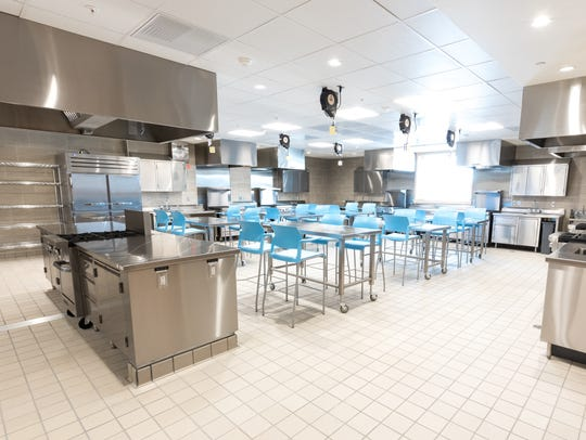 The new Learning Kitchen in the Oliver Kelley Farm
