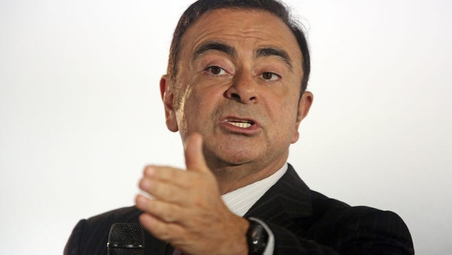 Carlos Ghosn, chairman and CEO of Renault-Nissan.