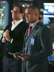 Michael Weatherly and Christopher Jackson star in CBS'