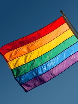 Rainbow Flag of LGBTQ.