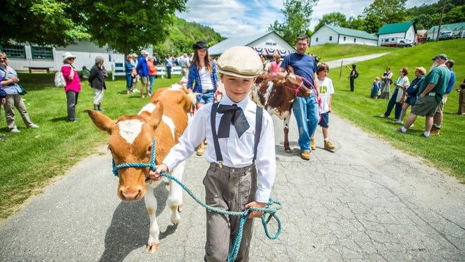 There will be parades both Saturday and Sunday at noon at the June 18-19 Vermont History Expo in Tunbridge. Many heritage-breed animals will be shown in the parades.