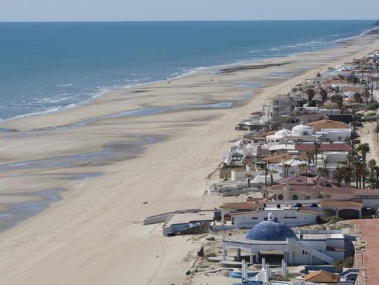 Playa Las Conchas de Puerto Peñasco, Sonora, México.