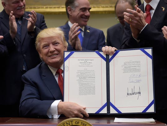 Donald Trump extends vets' choice act