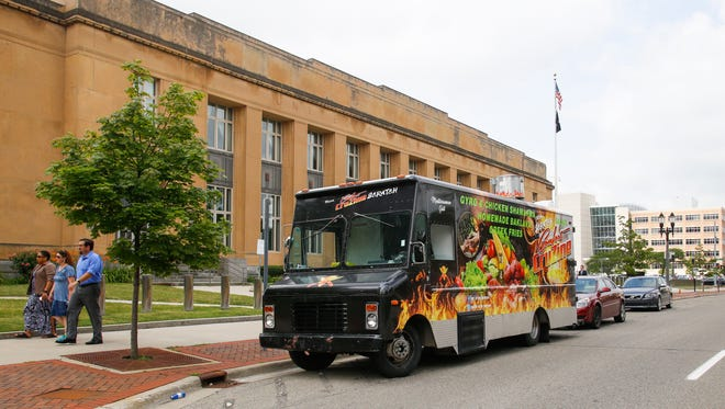 The From Scratch food truck will be at the Food Truck Mash-Up Aug. 25 at Cooley Law School Stadium.