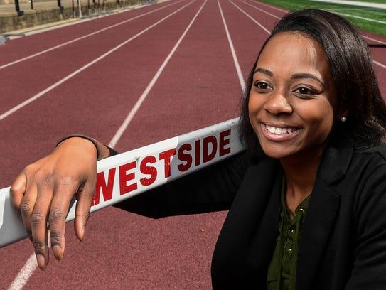 Westside High School track standout Taylor Robinson