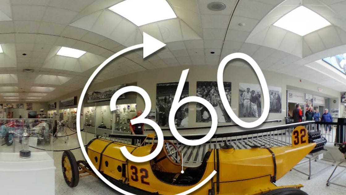 360 video tour the indianapolis motor speedway museum for Indianapolis motor speedway museum