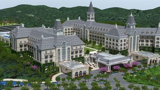 Sterling Forest Resort in Tuxedo, as envisioned by Genting Americas.