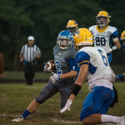 Conner tops NewCath, 27-14