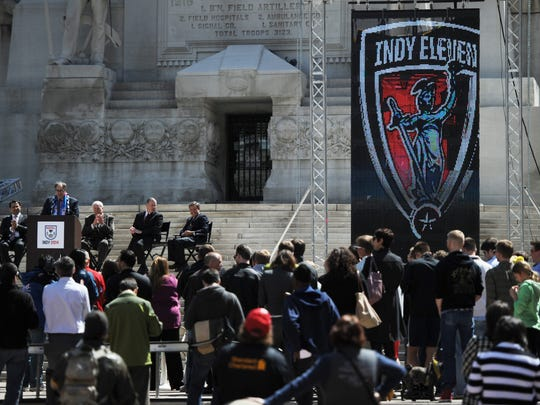 The Indy Eleven have captured the city's imagination without playing a game.