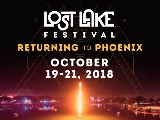Lost Lake Festival Poster