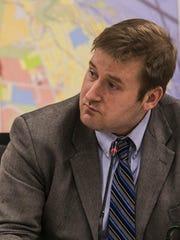 South Burlington City Councilor Thomas Chittenden takes