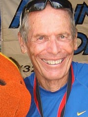 Bernie Sher (and his wife, Patti Sponsler) are the benefactors of the Coach Bernie Scholarship, which celebrates the achievements of high school seniors within the running community, academically, personally, and as athletes.