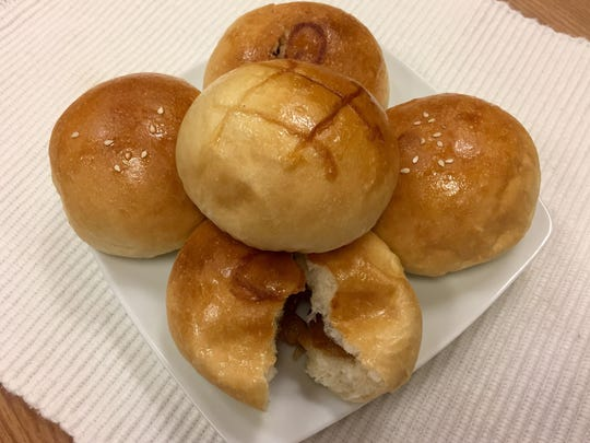 Honey Bakery, a Chinese bakery on Keystone Avenue, sells buns with a variety of sweet and savory fillings.