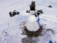 Burning Snowman moves closer to downtown