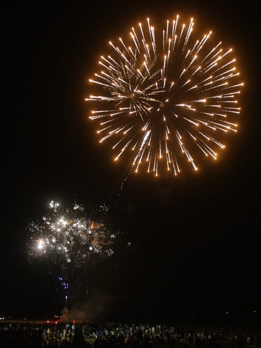 Martell's fireworks