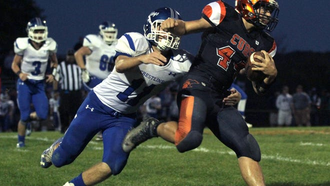 Quarterback Jeb Grover rushed for 1,926 yards and 28 touchdowns last season for the Cubs.