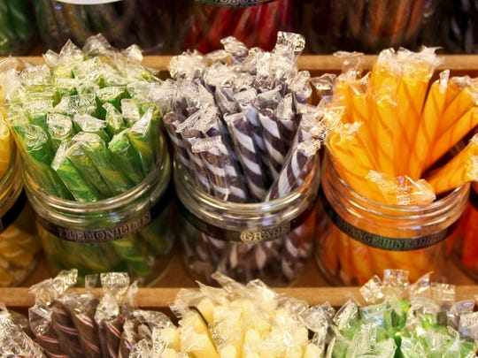 Among its many confections, Sweeties Candy offers old