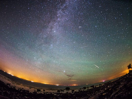 EPA EPASELECT GERMANY EUROPE PERSEID METEOR SHOWER ENV NATURE DEU