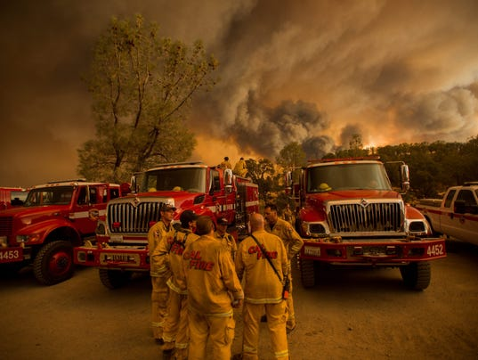 EPA USA CALIFORNIA WILD FIRE DIS FIRE USA CA
