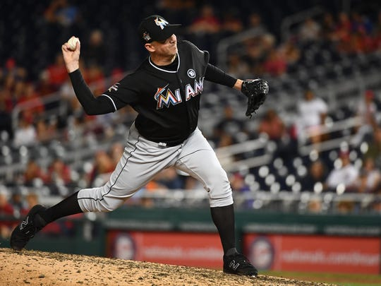 Brad Ziegler is a 10-year major league veteran currently with the Marlins.