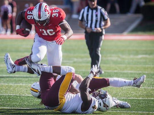 Ball State's Caleb Huntley struggles past Central Michigan's