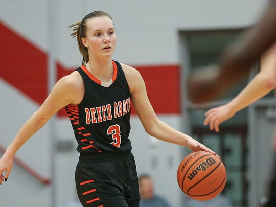 Beech Grove guard Cameron Cardenas is averaging 22.9 points per game and shooting 59 percent.