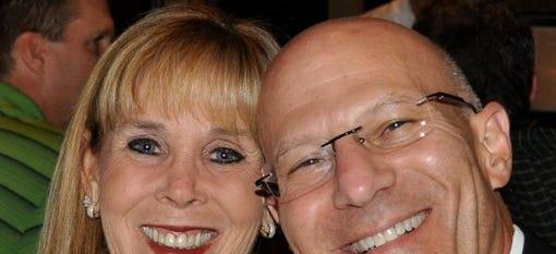 Greg Eveloff and his wife, Mikki.