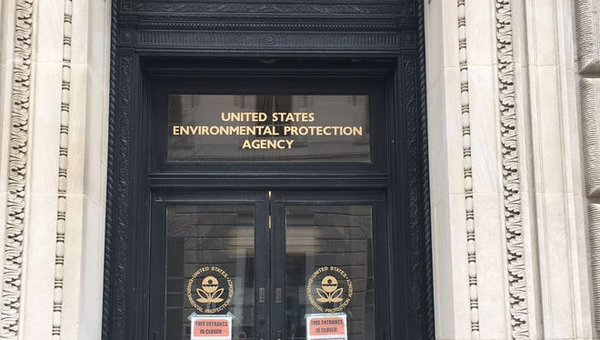 Office of the EPA in Washington, D.C.