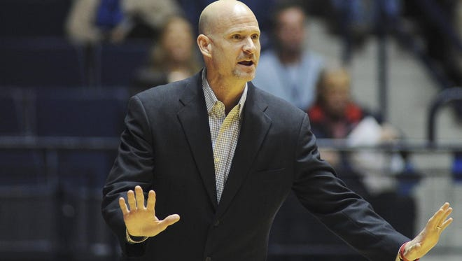 Ole Miss coach Andy Kennedy and his team will face Memphis on ESPNU on Dec. 3.