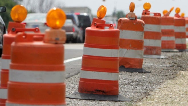 Road work at the Interstate 96/U.S. 23 interchange is on target for this spring.