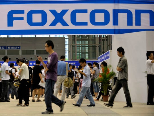 Foxconn is building a $10 billion factory campus in Wisconsin.