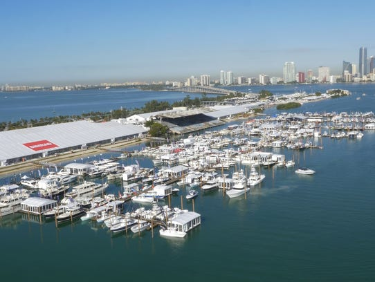 The 2018 Miami International Boat Show sets sail Thursday.