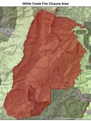 Several trails are closed in the Linville Gorge due
