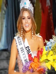 Miss Colombia, Ariadna Gutierrez, was mistakenly crowned