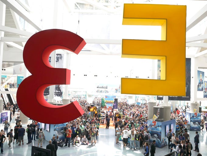 This is E3 2017 which is held at the Los Angeles Convention