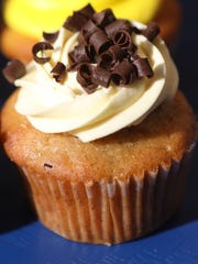 The Bananas Over Amy cupcake was named after Mr. Cupcakes'